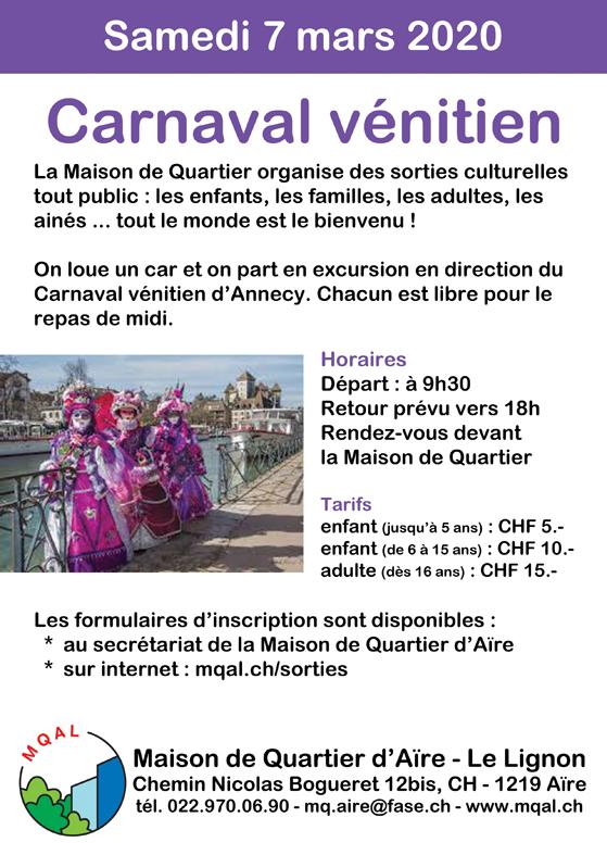 Carnaval de Venise 2020